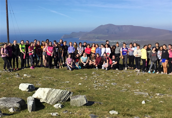 Transition year trip to Achill