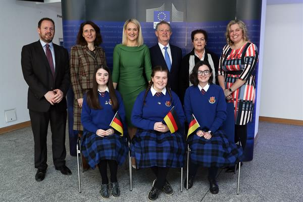 Model Council EU debate in Dublin Castle
