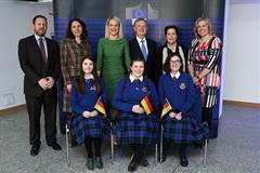 Model Council EU debate in Dublin Castle